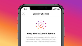 Instagram is launching Security Checkup
