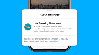 Facebook will Label State-Controlled Media On Facebook