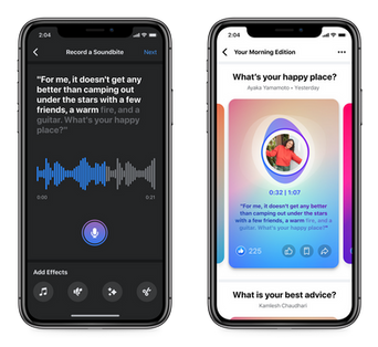 Podcasts Are Coming to Facebook