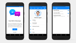 Android Users Can Now Send and Receive SMS Messages through Facebook Messenger