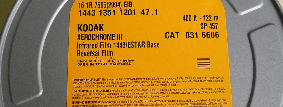 Aerochrome 16mm 400ft