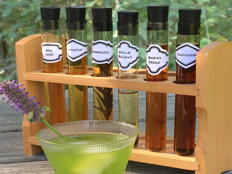 Handcrafted Drinks from the Summer Garden – Shrubs and Bitters