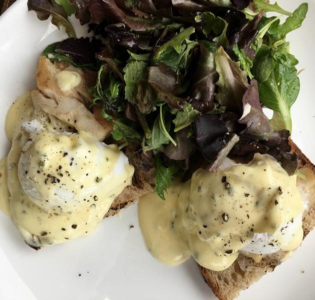 Roundhouse Eggs Benedict