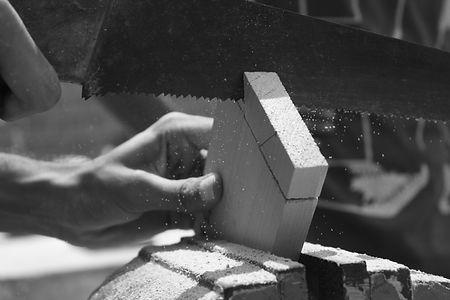 木造建築作業
