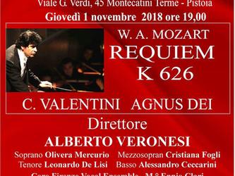 W.A Mozart REQUIEM K 626 C. Valentini  AGNUS DEI 1 novembre 2018 Teatro Verdi | Montecatini