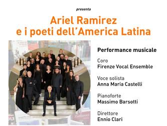 """11° compleanno della Biblioteca delle Oblate """"Ariel Ramirez e i poeti dell'America Latina"""""""