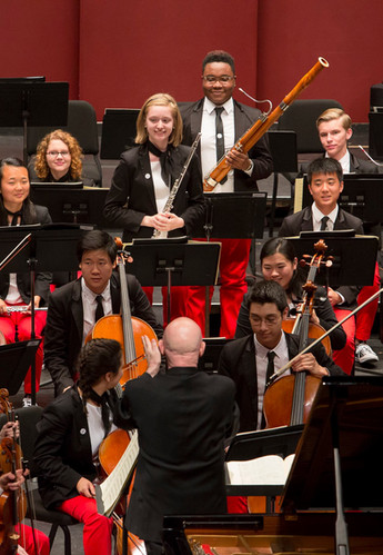 National Youth Orchestra of the USA, 2016.