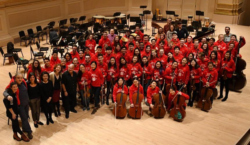 New York String Orchestra Seminar, 2018.