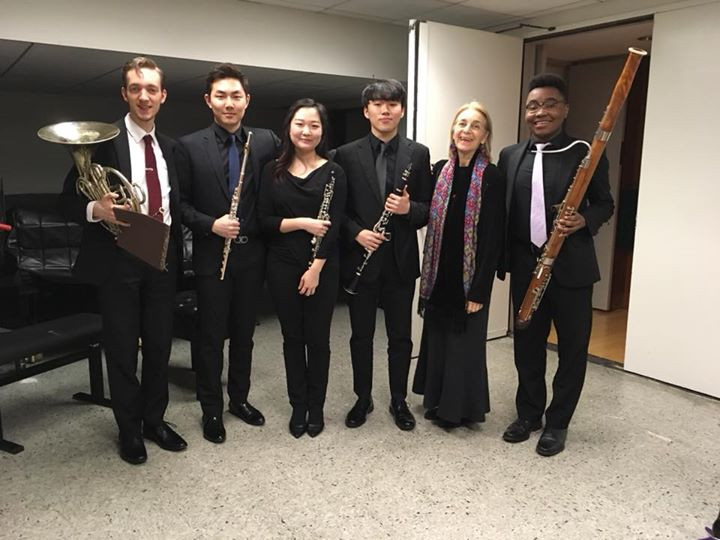 Chamber music performance, 2018.