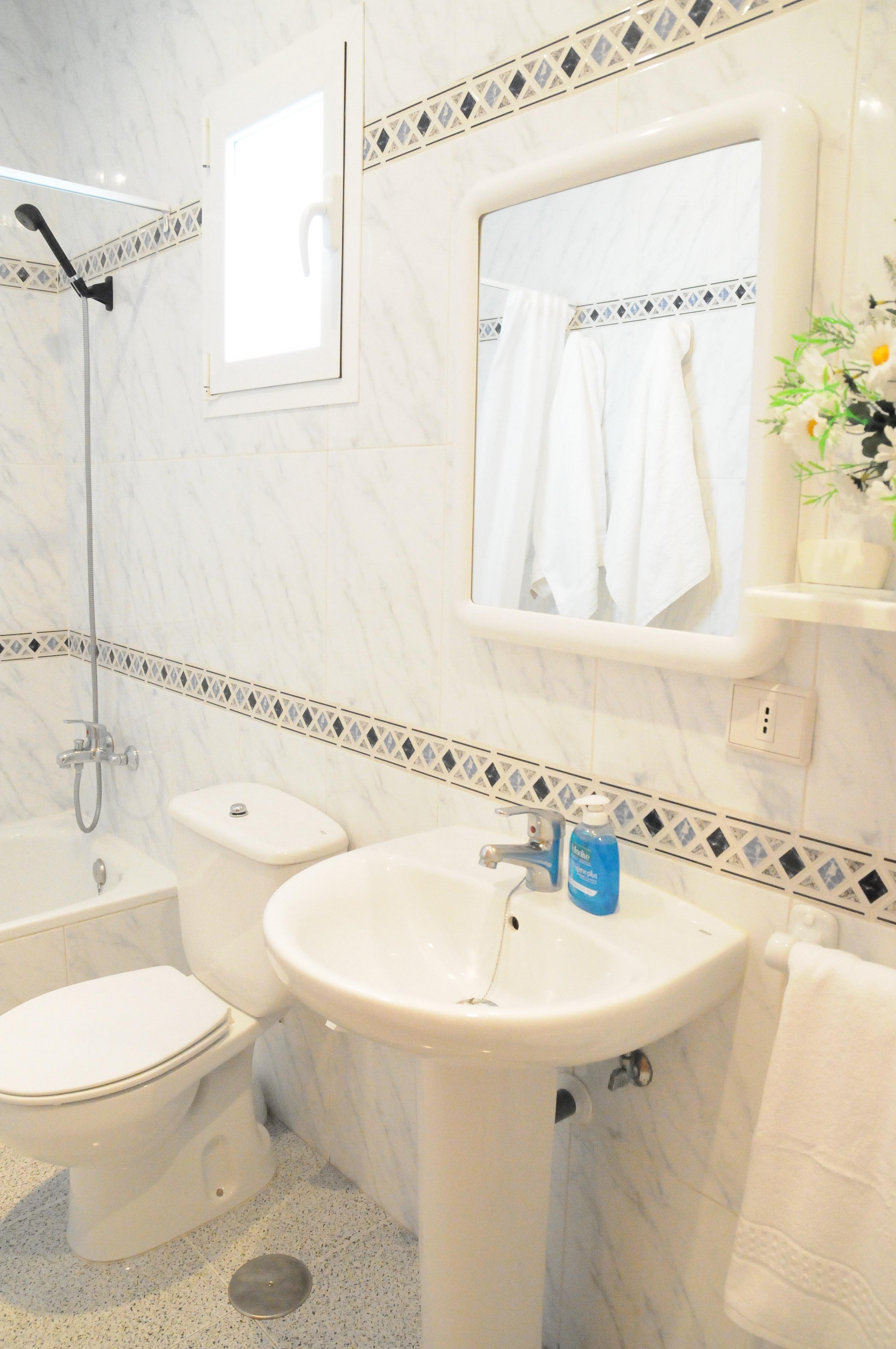 Toilet with Mirror
