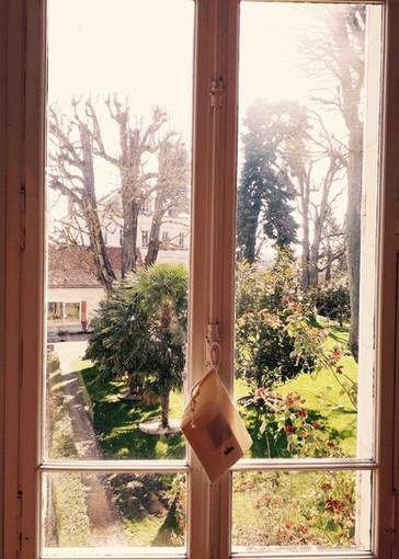 Vue fenêtre Pigeonnier hiver