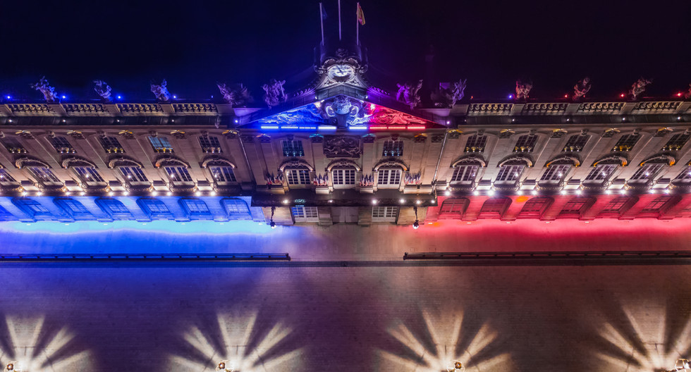 Place Stanislas à Nancy (Hôtel de ville)