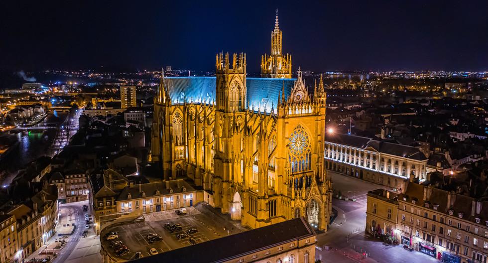 Cathédrale Saint-Étienne à Metz