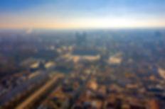 Photographie aérienne par drone de Nancy