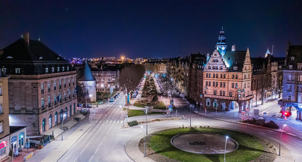 Avenue Foch à Metz