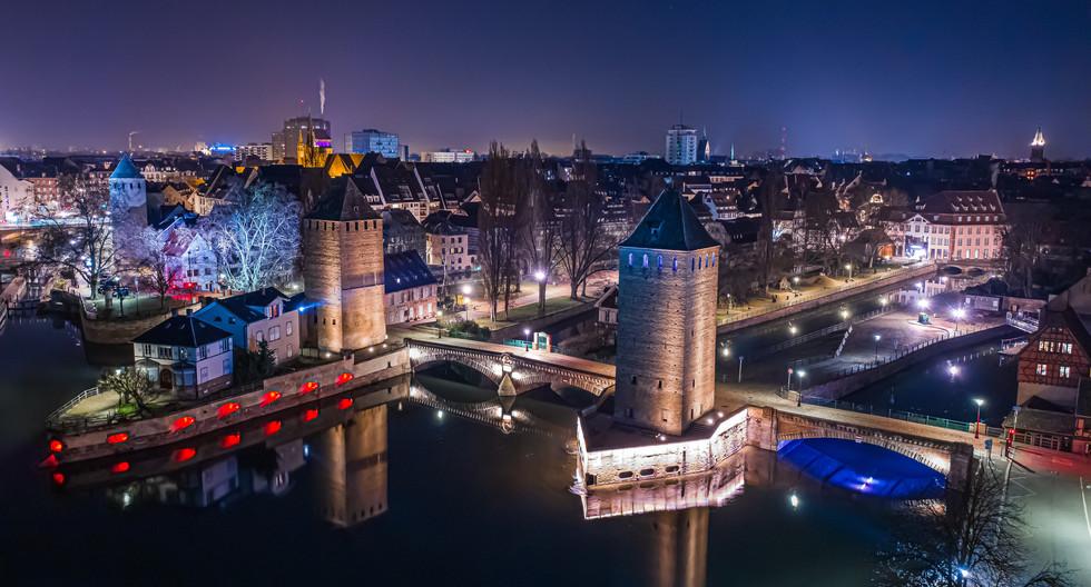 Ponts couverts à Strasbourg