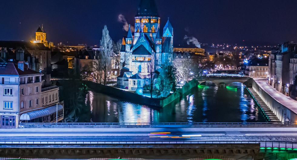 Temple Neuf à Metz