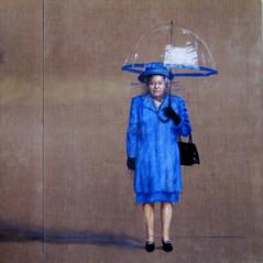 Queen with Umbrella