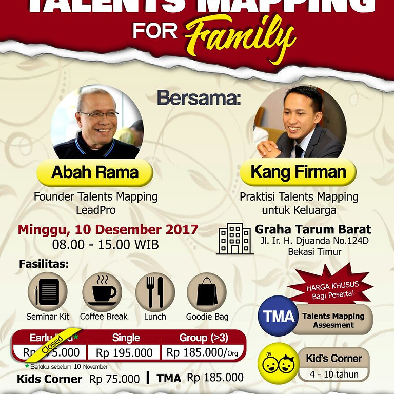 Talents Mapping for Family
