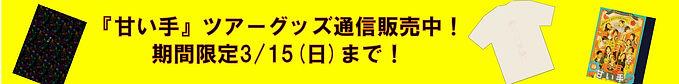 『甘い手』ツアーグッズ通信販売中!.jpg