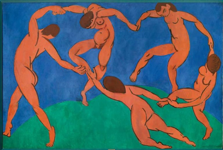 "Peinture ""La ronde"" de Matisse"