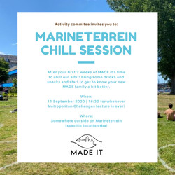 Marineterrien Chill Session