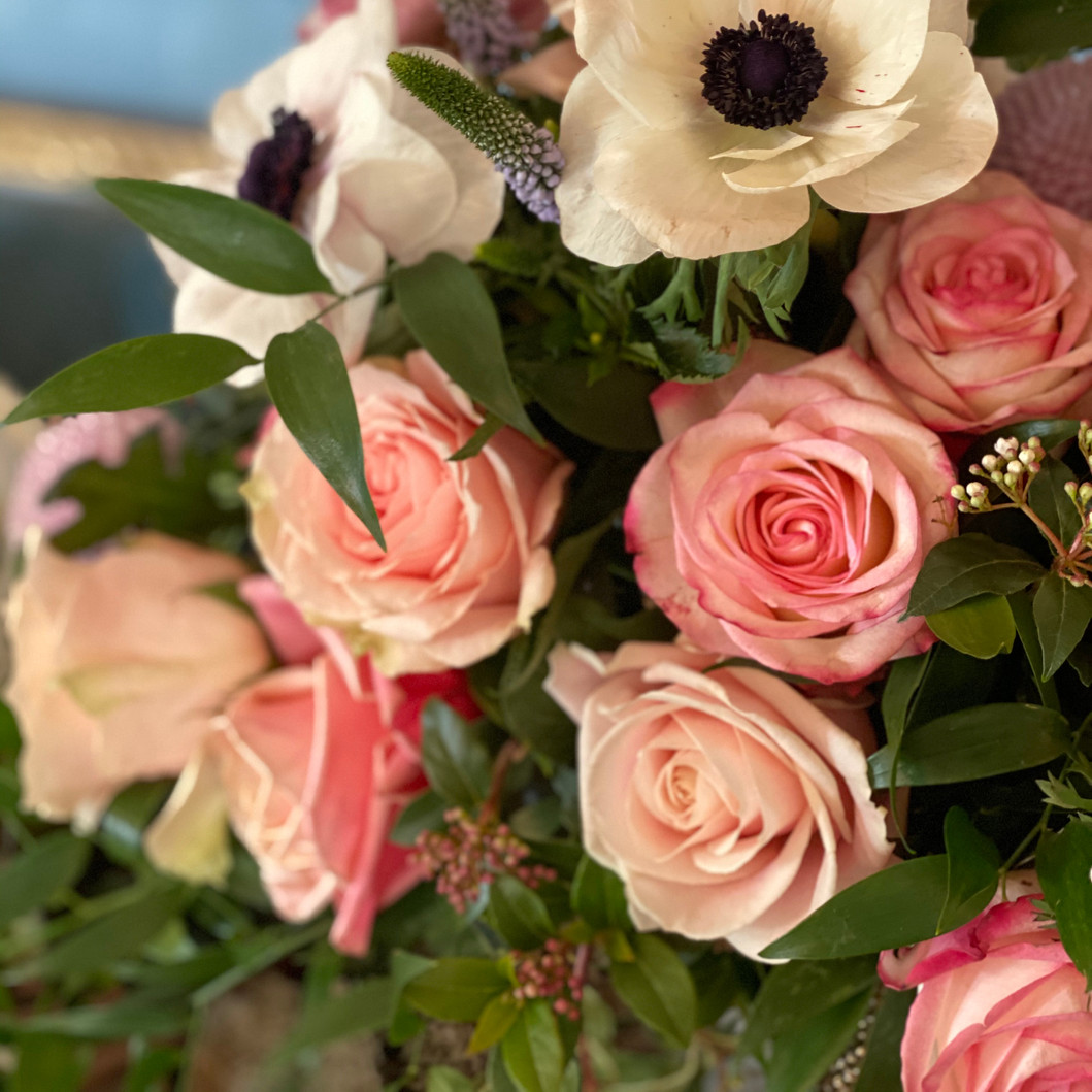 Hochzeitsblumen-Heiraten im Château Gütsch