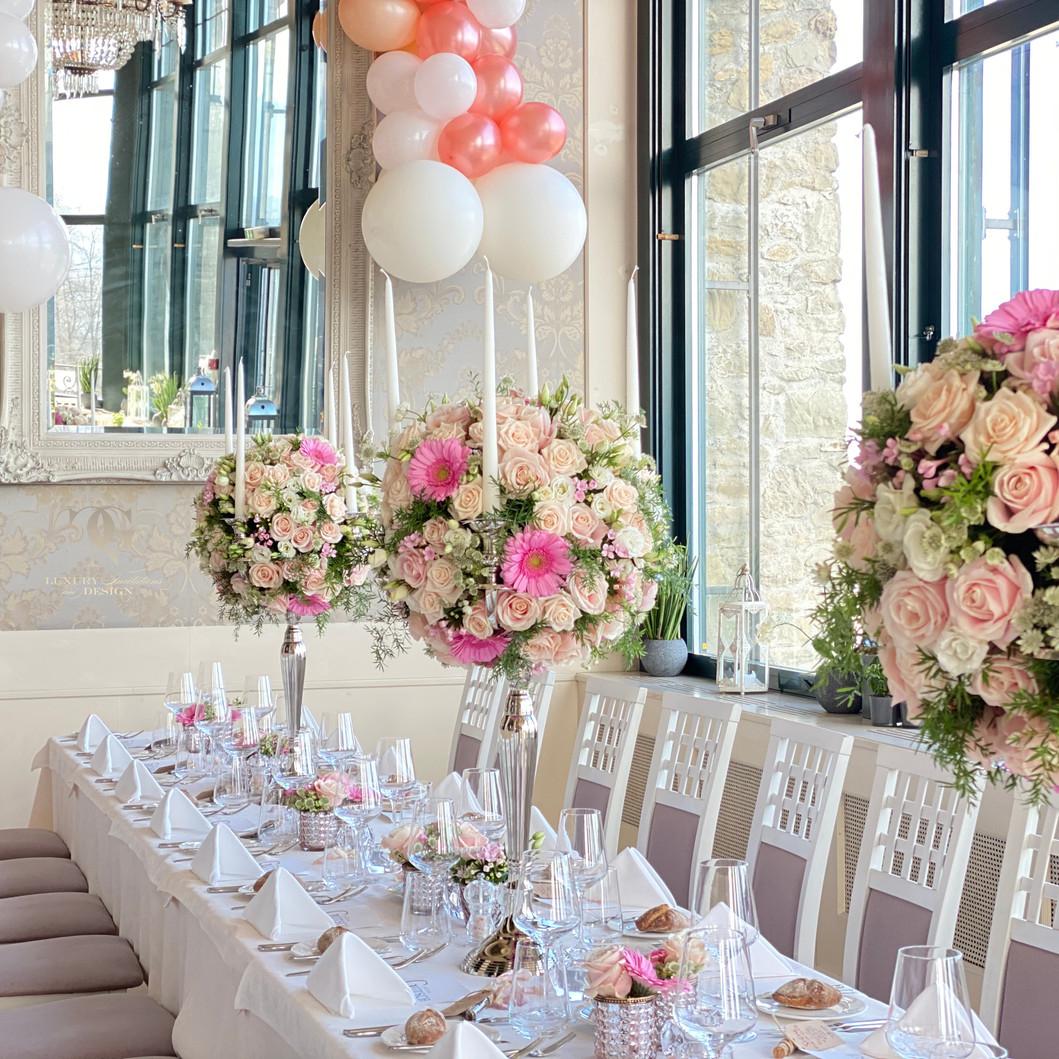 Hochzeitsblumen Pasteltönen