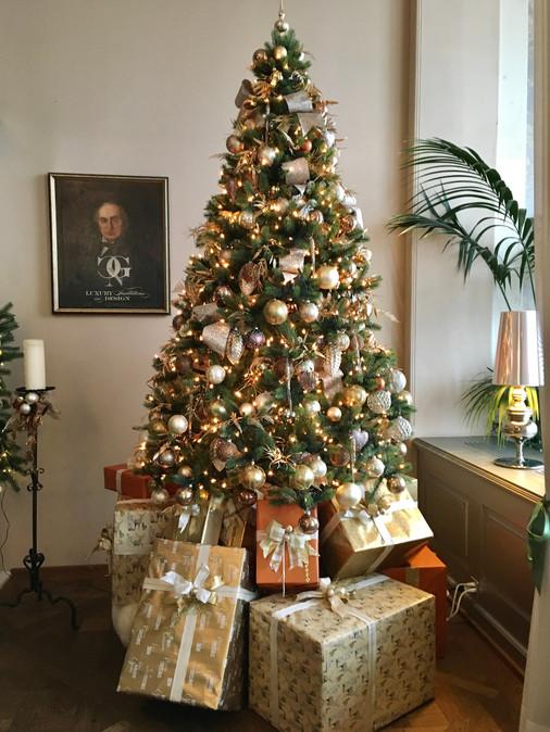 Weihnachten im Hotel Château Gütsch