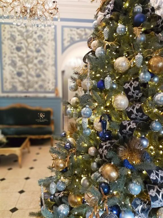 Christmas decoration Château Gütsch