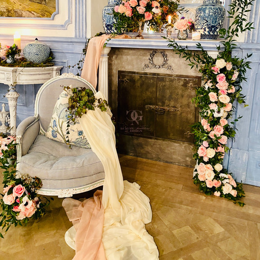 Wedding floral designer-babyshower designer