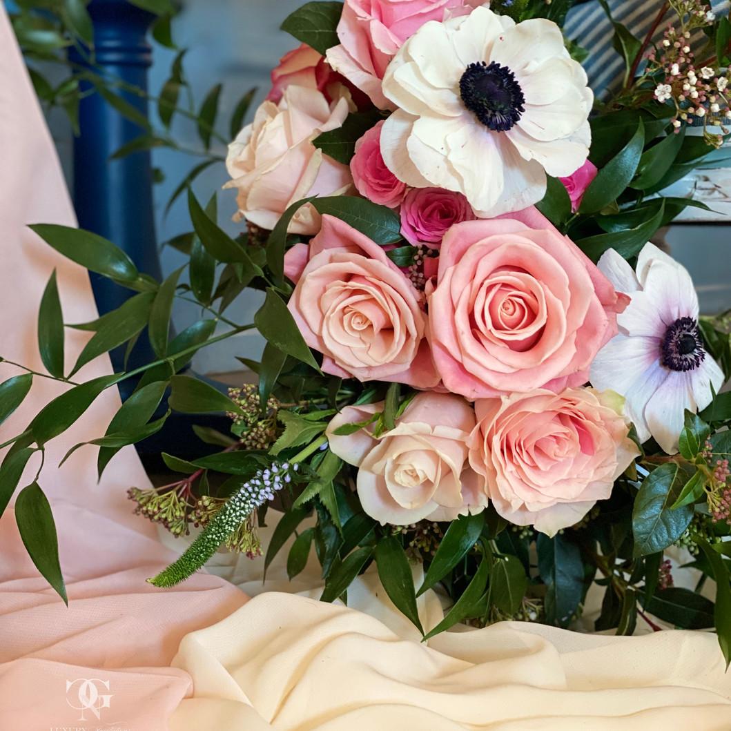chair flower decoration-Hochzeitsblumen