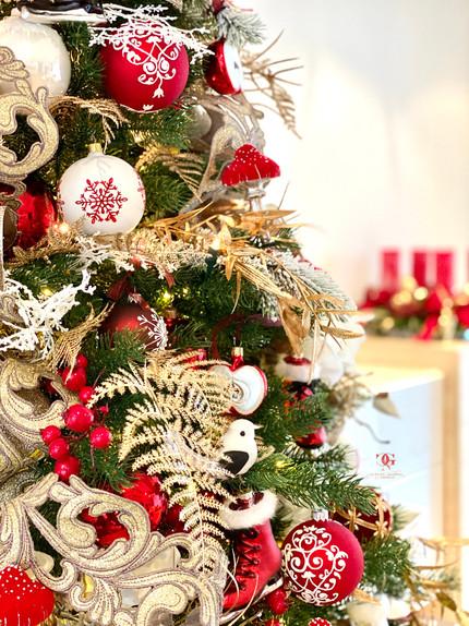 Professionelle Weihnachtsdekoration Service