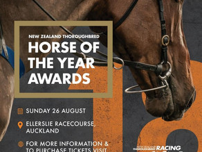 2018 New Zealand Thoroughbred Horse of the Year Award Finalists