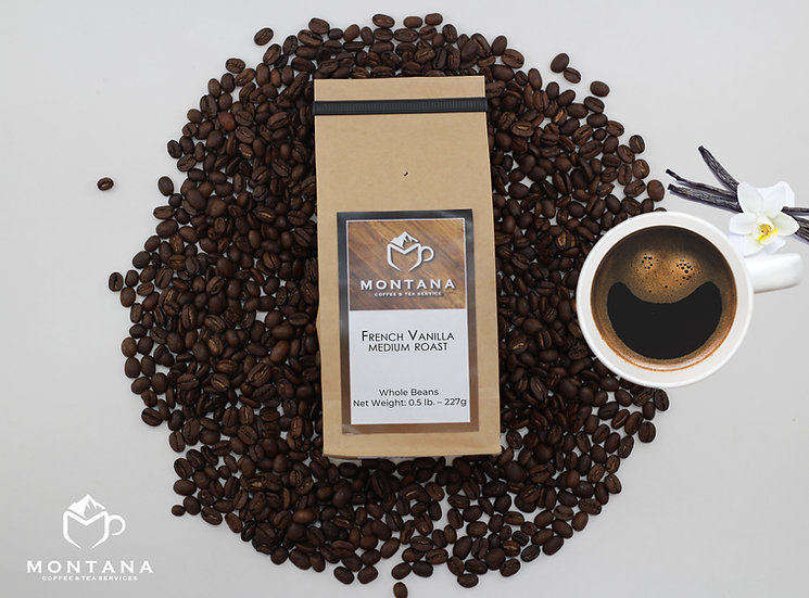 French Vanilla-Medium Roast Coffee