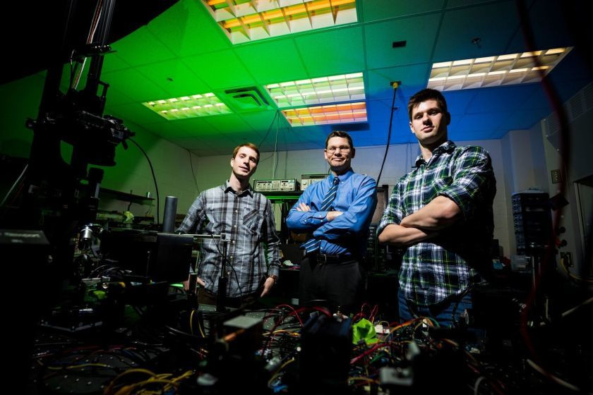 Better than a hologram: BYU study produces 3D images that float in 'thin air'