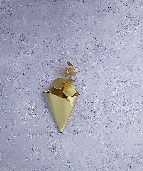 Cornet en laiton à accrocher