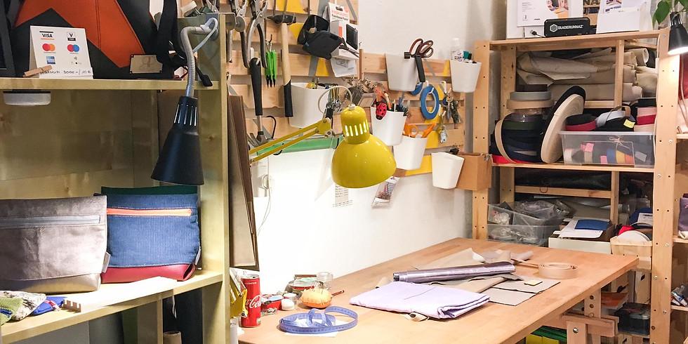 Tolltartó varró workshop - Ismerkedés a varrógéppel