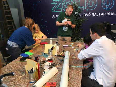 Molinó workshop | EcoDesign kiállítás