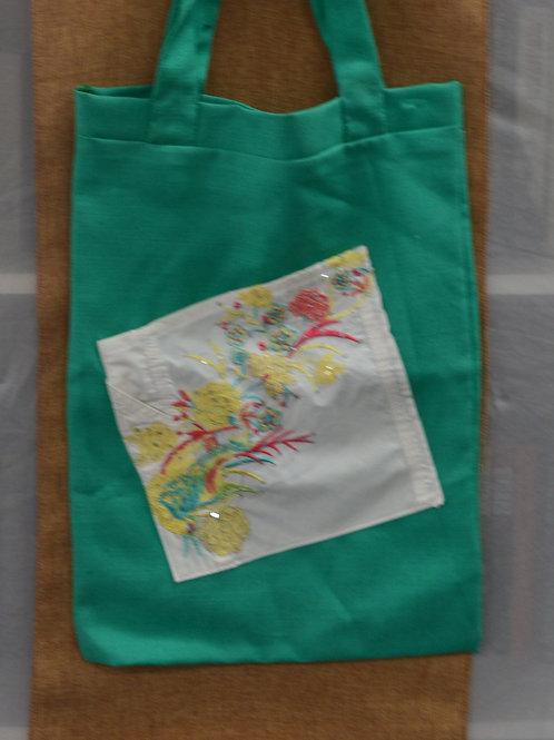 Up-cycled Tote Bag