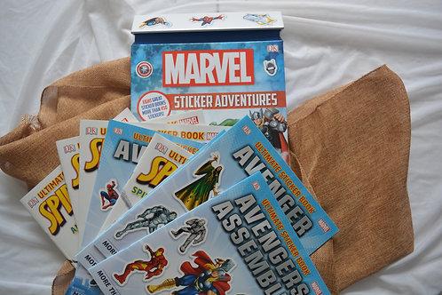 Marvel Sticker Books