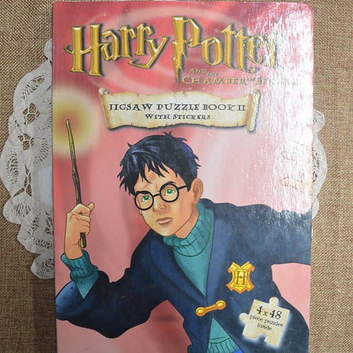 Harry Potter Jigsaw Book