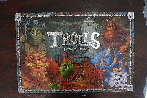 Trolls Jigsaw Book