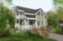 Проект каркасного дома Грета