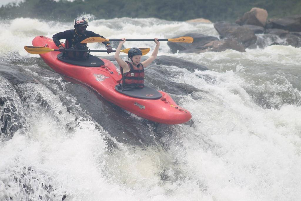 River Nile water surfing