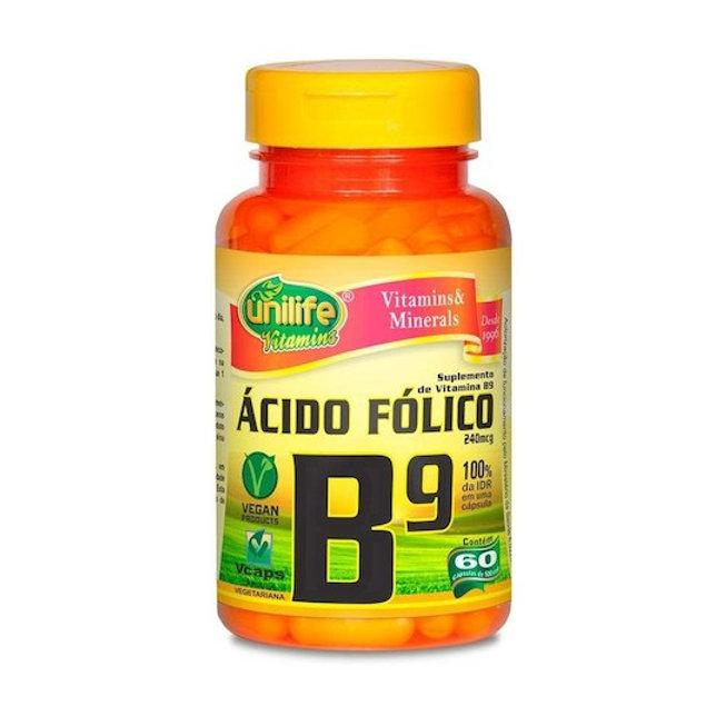 acido folico dietary supplement