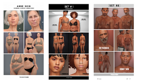 Custom Content Showcase for The Sims 4 / Download Links