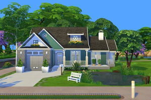 Sims 4 Gallery Spotlight: Beautiful Base Game Starters my