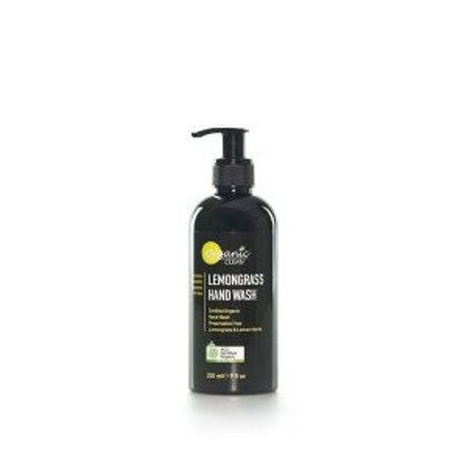 organic clean lemongrass handwash 250ml