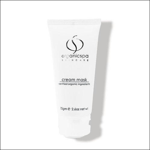 organicspa cream mask